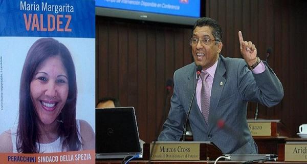 Diputado Marcos Cross llama a los dominicanos de la Spezia-Italia a votar por Valdez.