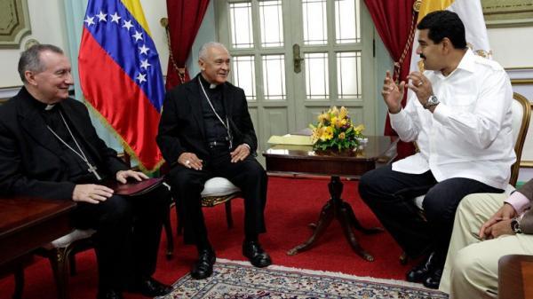 """Cardenal Pietro Parolin reclama """"Una solución democrática, pacífica y viable"""" en Venezuela"""