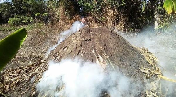 Autoridades de Medio Ambiente destruyen horno de carbón e incautan herramientas en Puerto Plata