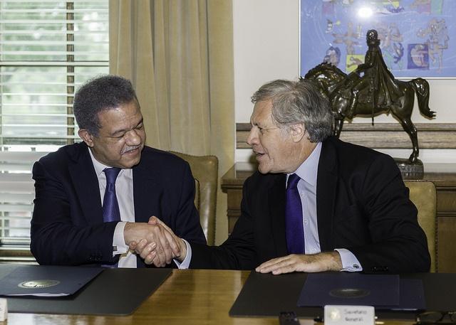 OEA y Fundación Global Democracia y Desarrollo de La República Dominicana renuevan acuerdo para fort