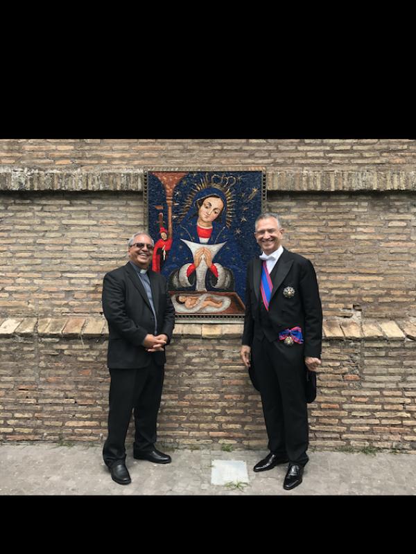 Papa designa a Monseñor Benito Ángeles nuevo obispo auxiliar de Santo Domingo