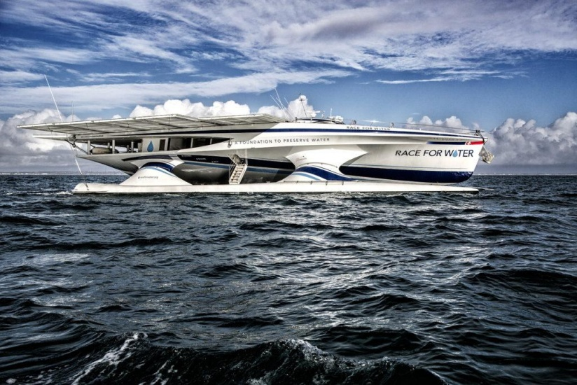 Llega al país el primer barco autónomo gracias a energía solar y hidrógeno para propulsarse