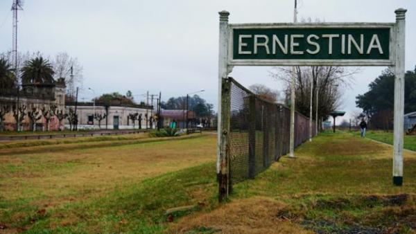 Ernestina, un pueblo en Argentina casi abandonado