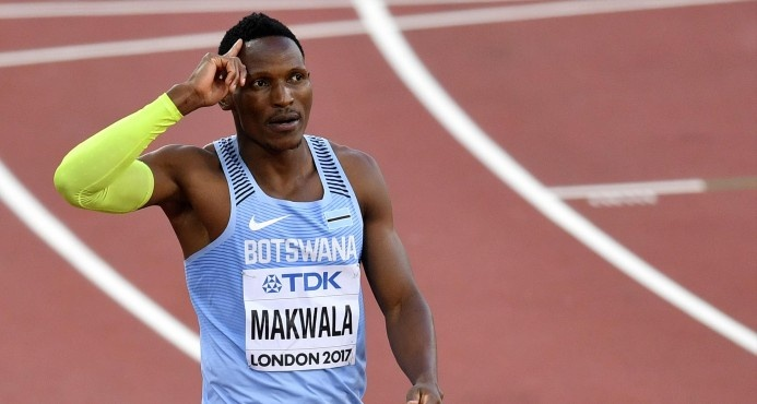 Deportistas en Mundial de Ateltismo, incluido Isaac Makwala, enferman por alimentos