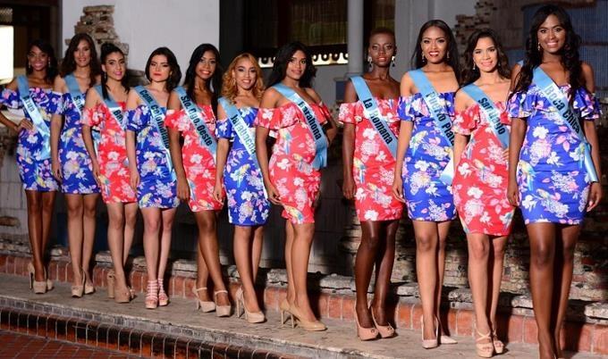 """20 candidatas competirán este domingo por """"Miss RD Tierra 2017"""""""