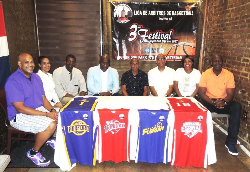Leyendas del basquetbol dominicano mostrarán fortaleza en juego en Manhattan