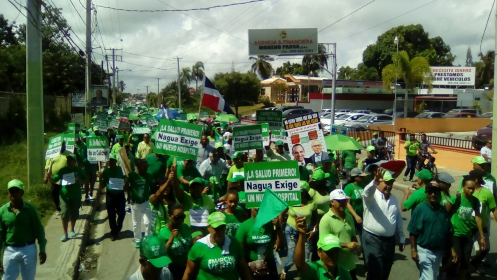 Marcha Verde se traslada a Nagua, advierten intereses buscan impedir justicia caso Odebrecht