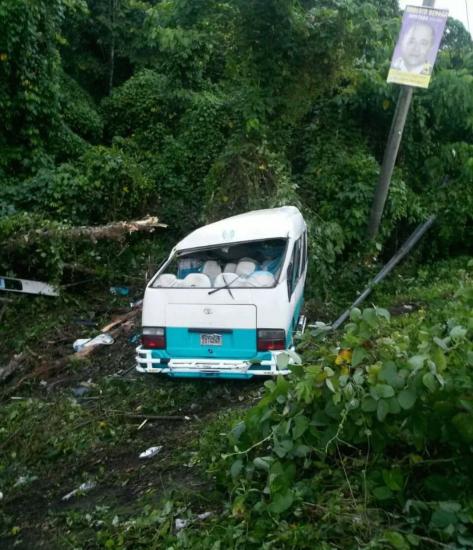 Monte Plata, tragico accidente deja varios heridos y uno muerto