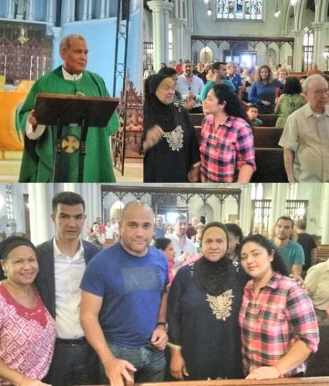 Ratifican apoyo a indocumentada refugiada en iglesia Alto Manhattan