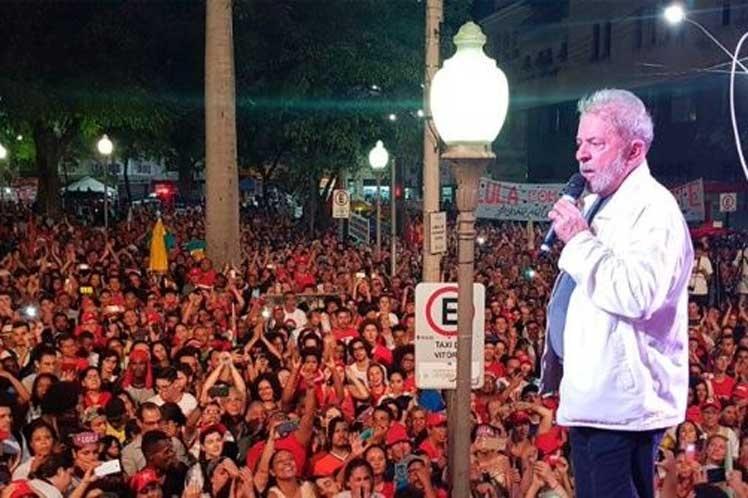 Caravana Lula por Brasil prosigue su marcha en Río