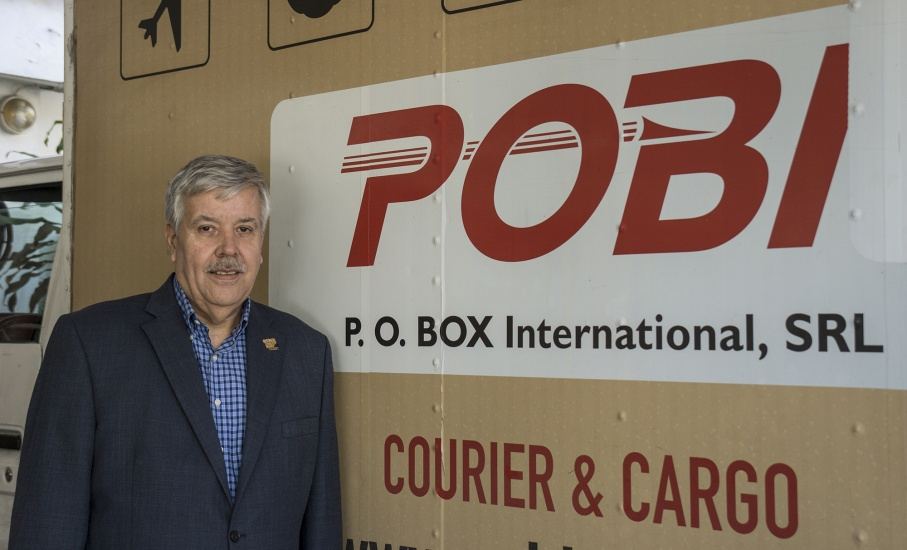 Hernán González Ganoza, presidente de P.O. Box International (POBI).