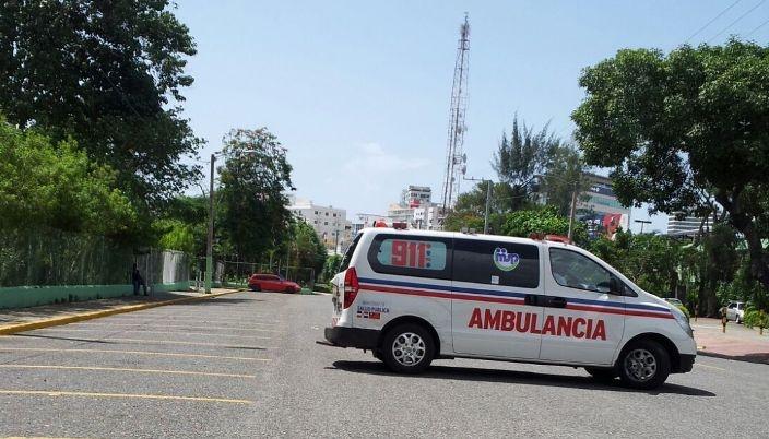 Dos obreros haitianos cayeronesta tarde de piso 18 de edificio en construcción en La Esperilla