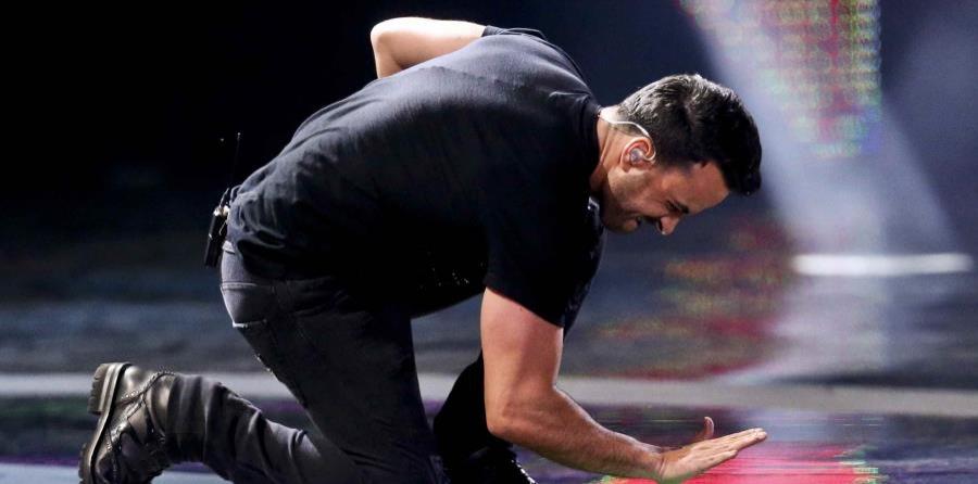 Luis Fonsi salió airoso en quinto show en Viña del Mar anoche