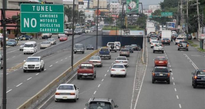 Ministerio de Obras Pública cerrará cuatro túneles y un paso a desnivel por mantenimiento