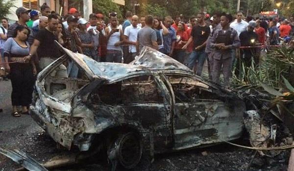 Mueren dos personas calcinadas en otro accidente de tránsito
