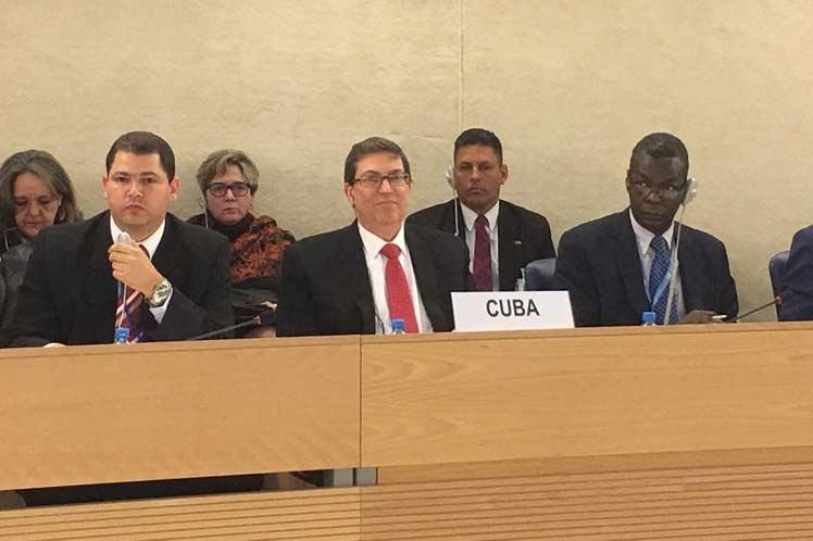 Cuba presentó hoy su informe del Consejo Nacional de Derechos Humanos