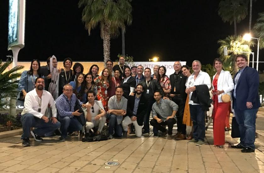 Ricardo Darín estuvo en Cannes y sus fotos recorren el mundo