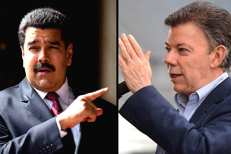"""Nicolás Maduro llama """"imbécil"""" a Santos por desconocer las presidenciales venezolanas"""