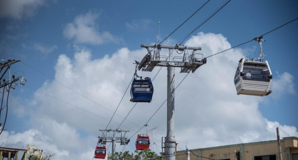 Suspendido el servicio del Teleférico a causa de las lluvias y las tormentas eléctricas