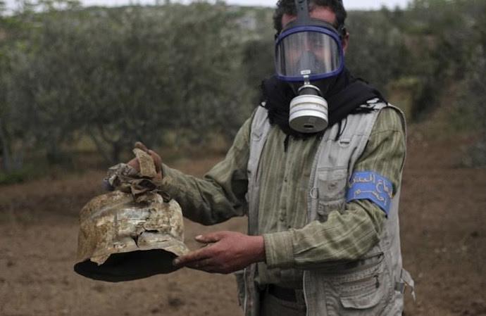 Manifestaciones en reducto rebelde contra una inminente ofensiva siria y rusa
