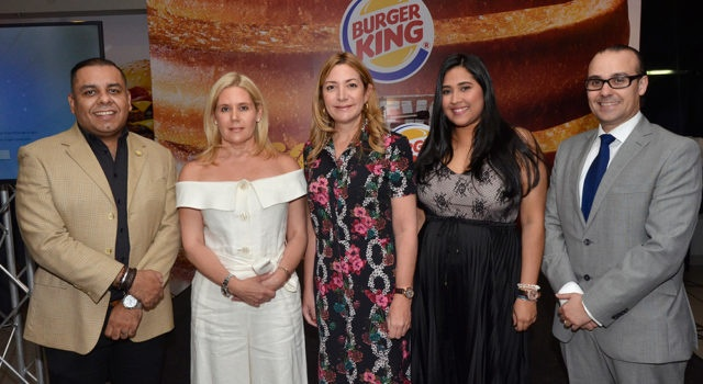 Cadena Burger King introduce nuevos productos