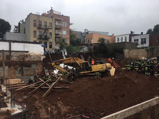 Constructor dominicano muere en derrumbe de pared en Brooklyn