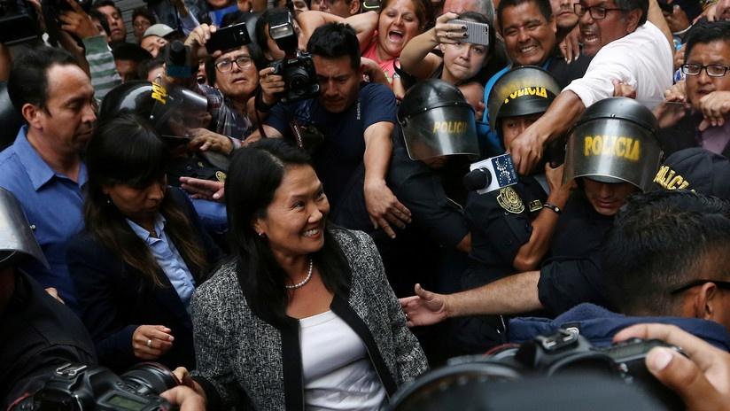 Perú: Detienen a Keiko Fujimori por presunto delito de lavado de activos