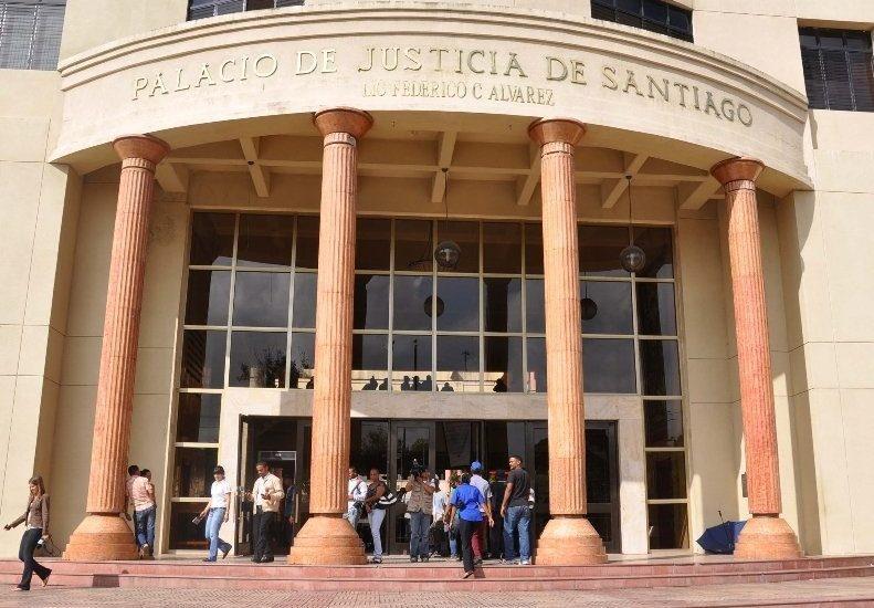 Resultado de imagen para PALACIO JUSTICIA SANTIAGO REP DOMK
