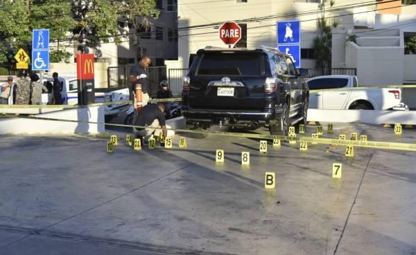 Image result for Un muerto y dos heridos en parqueo de establecimiento de comida rápida en la Abraham Lincoln