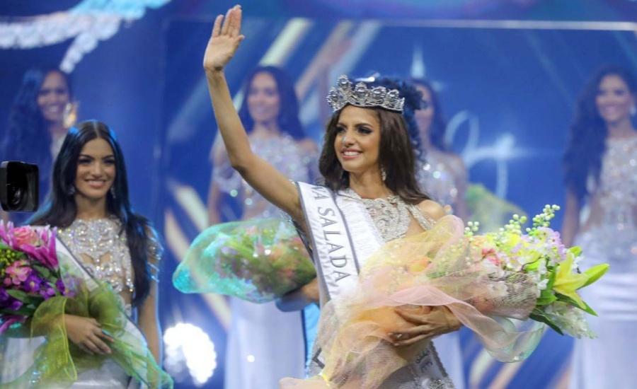 Aldy Bernard representante dominicana tras la corona de Miss Universo en Tailandia