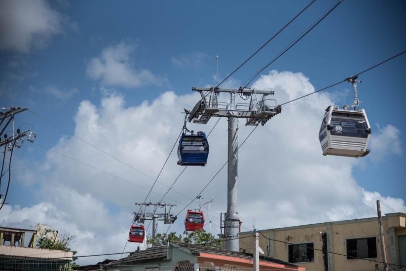 Oficina para el Reordenamiento del Transporte (Opret) informa salida del teleférico