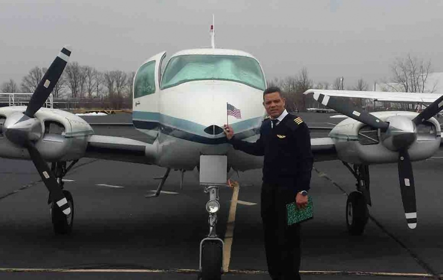 Piloto dominicano murió en accidente aéreo en Fort Lauderdale llegó a Estados Unidos con Blas Durán