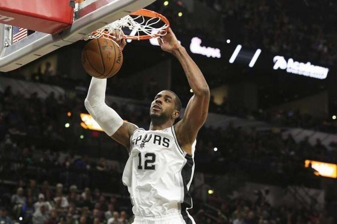 LaMarcus Aldridge, en una histórica noche encesta  56 puntos y Spurs superan al Thunder