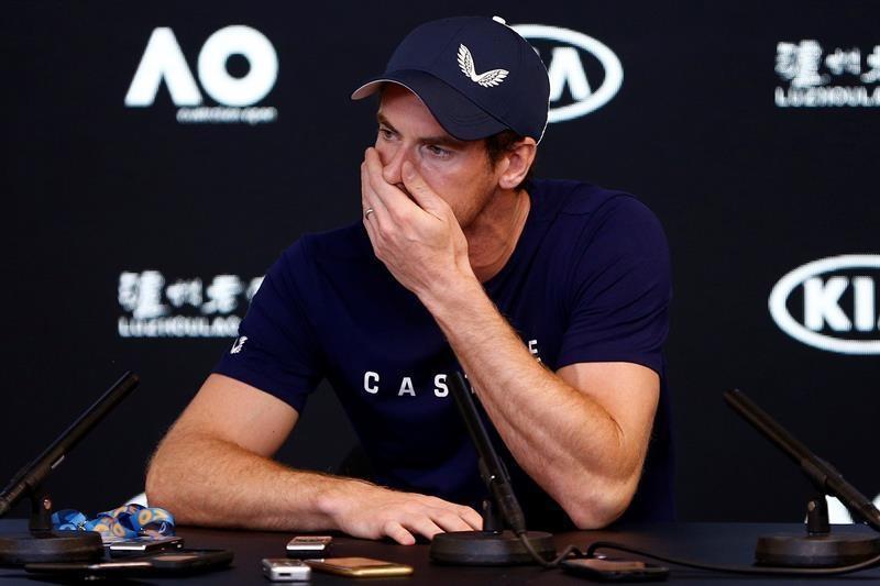 Andy Murray explica su lesión, rompe a llorar y anuncia suretiro