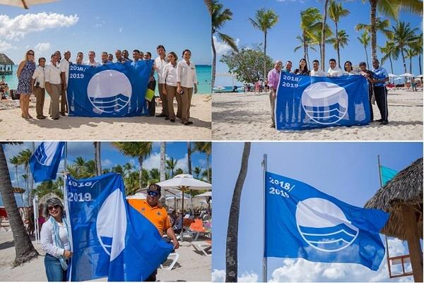 Playas más visitadas de La Romana mantienen certificación del programa Bandera Azul