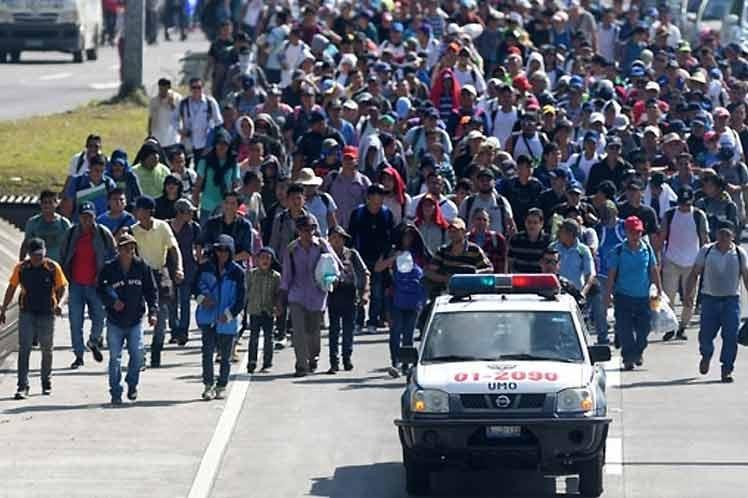 México se prepara ante anuncios de nueva caravana de centroamericanos