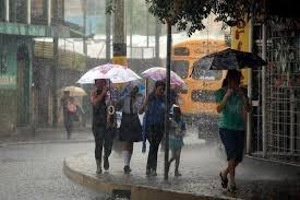 Meteorología dice vaguada provocará lluvias después del mediodía de hoy
