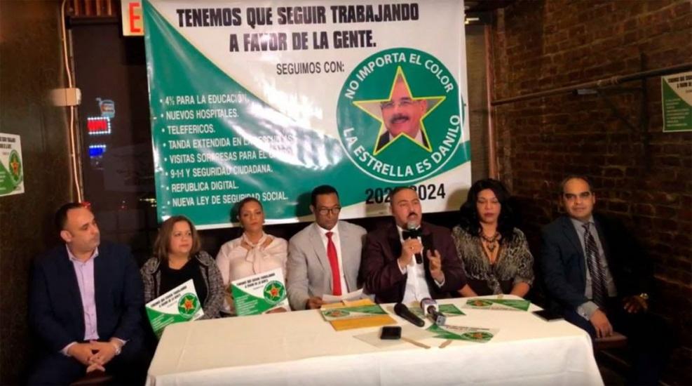 Anuncian presidente Danilo Medina hará visitas sorpresas en Nueva York y arrancan campaña por la continuidad
