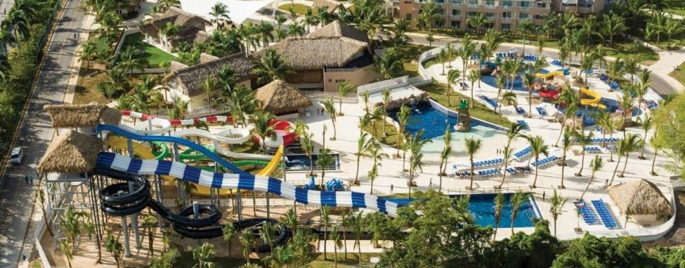 """Meliá Caribe Beach en Punta Cana estrena parque acuático interactivo """"Splach Island"""""""