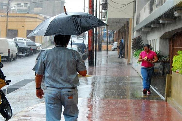 Meteorologia informa Sistema de alta presión causará lluvias dispersas