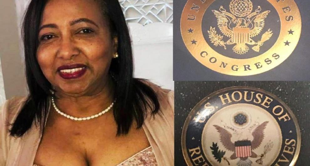 Congreso de Estados Unidos reconoce labor de enfermera dominicana