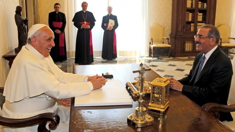 Presidente Danilo Medina viajará a Roma para acompañar al papa Francisco en sesión de FIDA