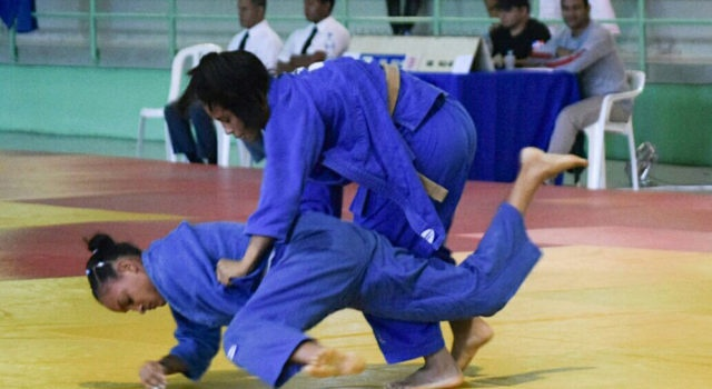 RD presente en torneo de judo en Francia