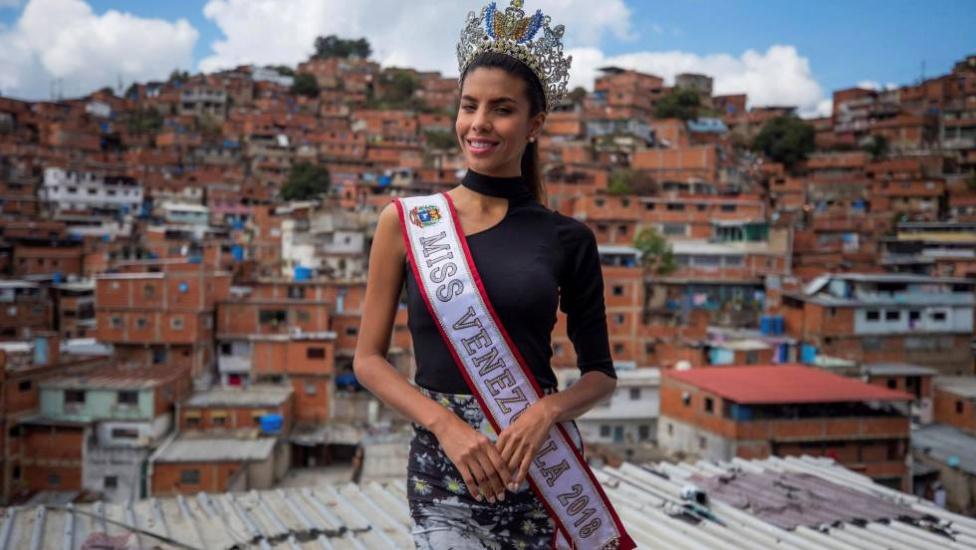 Isabella Rodríguez, Miss Venezuela también quiere un cambio en su país