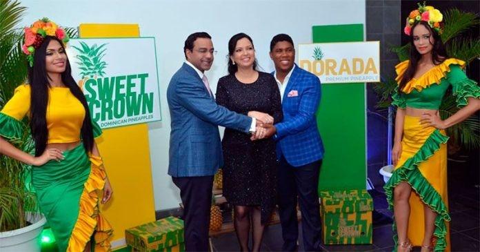 ONAPI entrega certificados nuevas marcas de piñas de Monte Plata