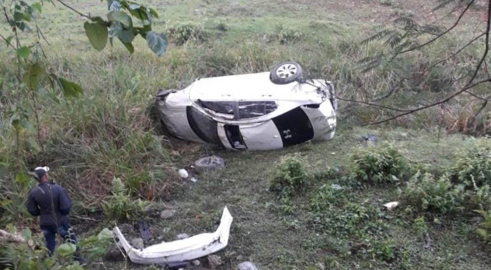 Joven resulta herido en accidente de tránsito en Villa Altagracia