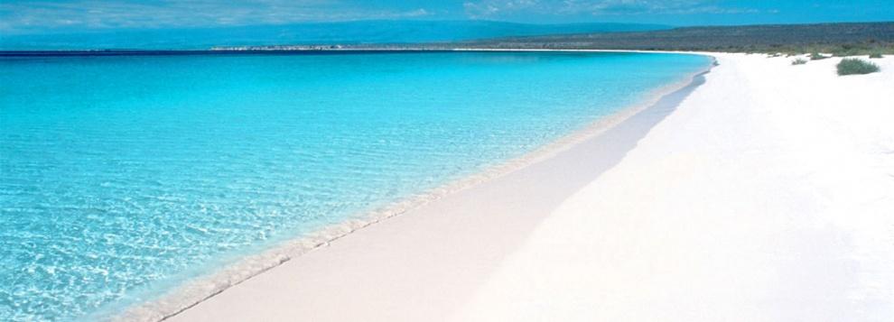 Playa de Bahía de las Águilas.