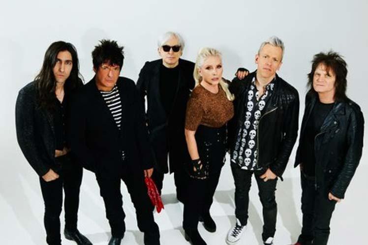 Banda estadounidense Blondie está en Cuba