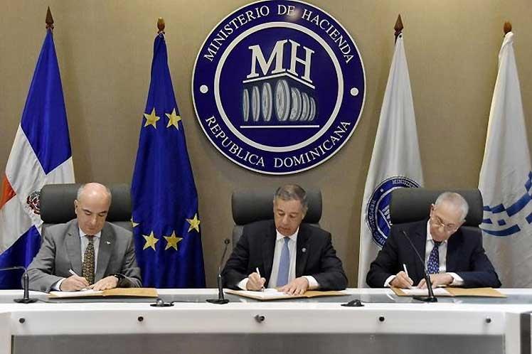 República Dominicana y la Unión Europea firman acuerdo de ayuda presupuestaria