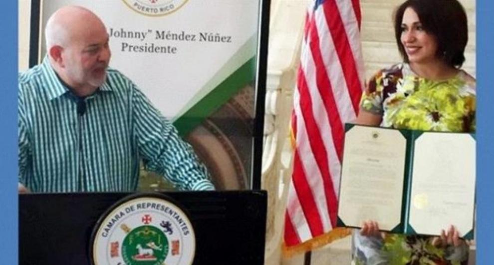 Resultado de imagen para Cámara de Representantes de Puerto Rico reconoció a la periodista dominicana Tania Polanco